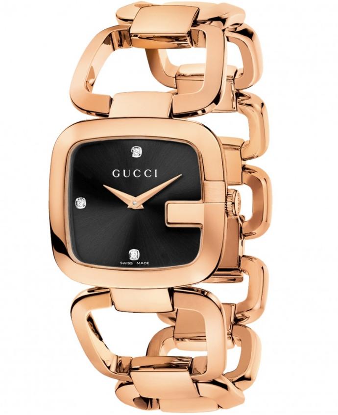 Ladies Gucci G-Gucci Diamond Watch YA125409