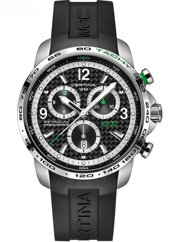 Mens Certina DS Podium Big Size Precidrive WRC Limited Edition Chronograph Watch C0016471720710