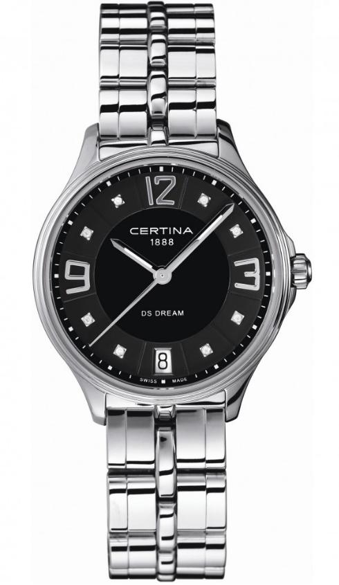 Ladies Certina DS Dream Diamond Watch C0212101105600