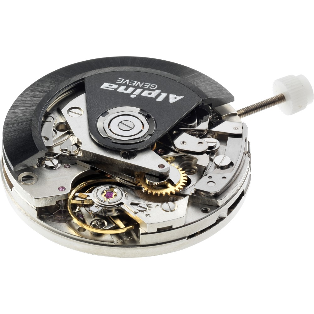 Mens Alpina Startimer Pilot Chronograph Watch AL-860GB4S6 movement