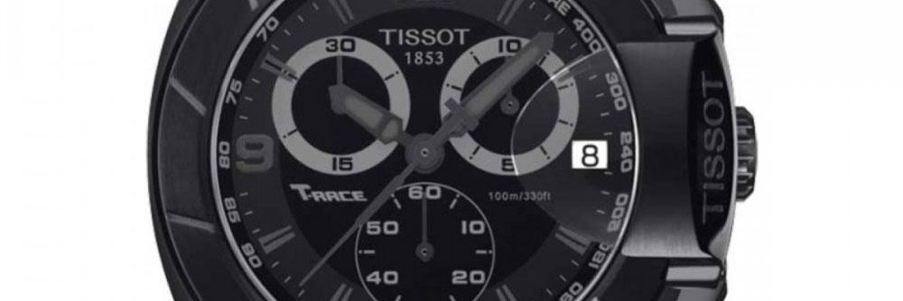 Mens Tissot T-Race Chronograph Watch T0484173705700