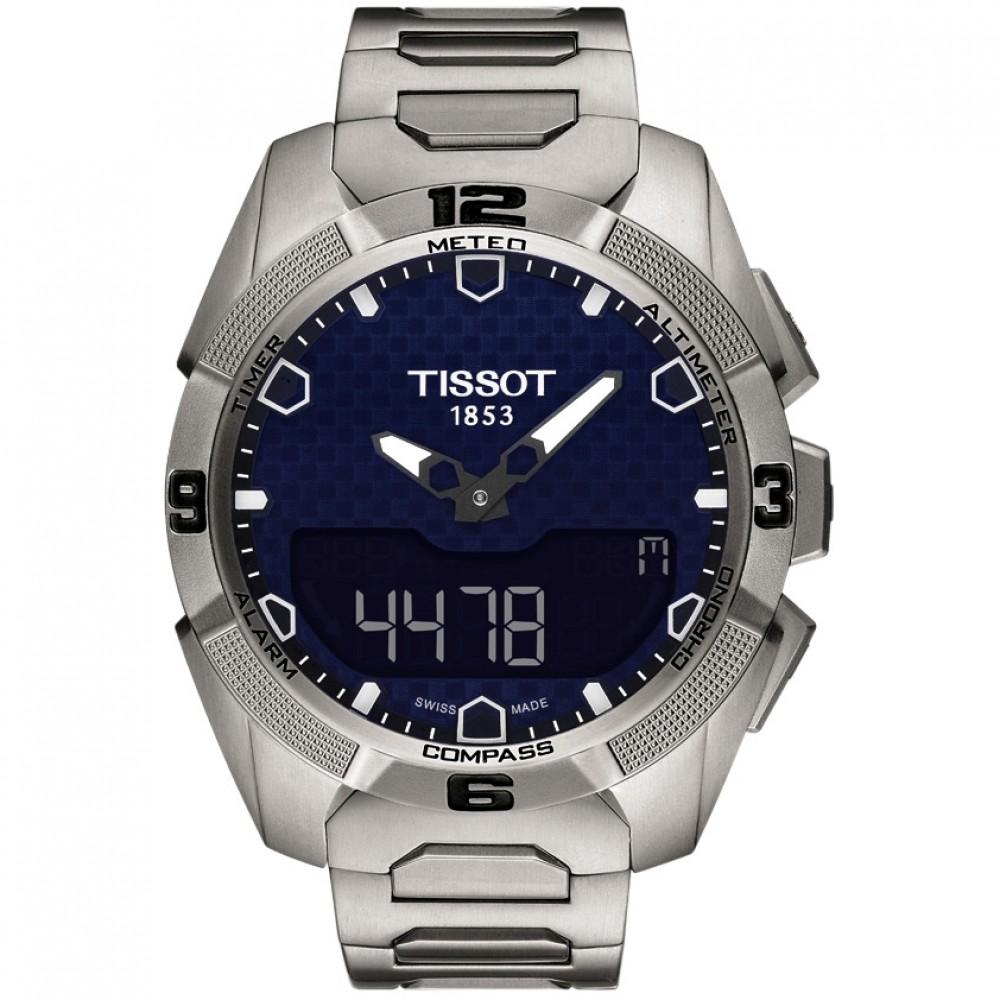 men's Tissot T-Touch Solar watch