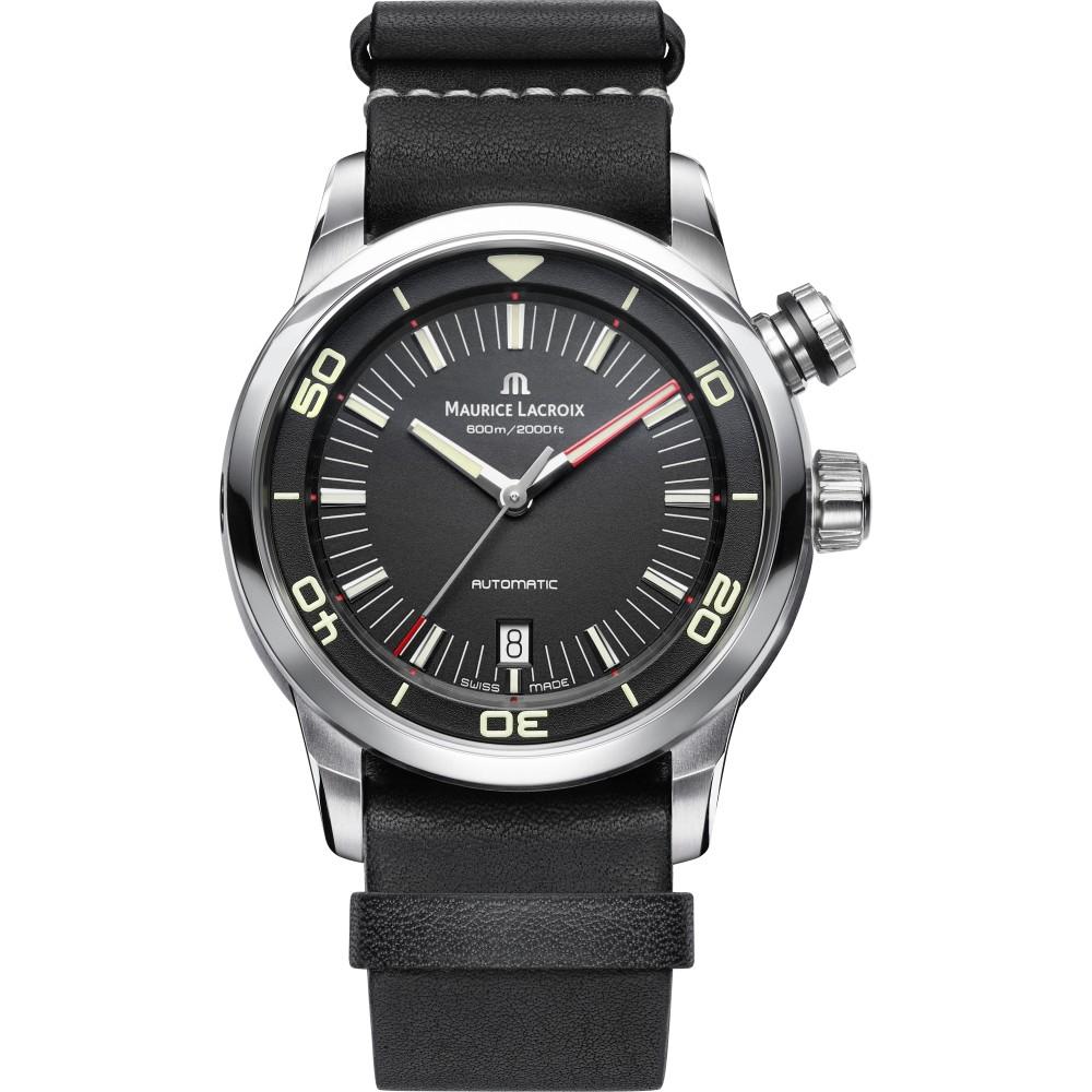 Mens Maurice Lacroix Pontos S Diver Automatic Watch PT6248-SS001-330-1