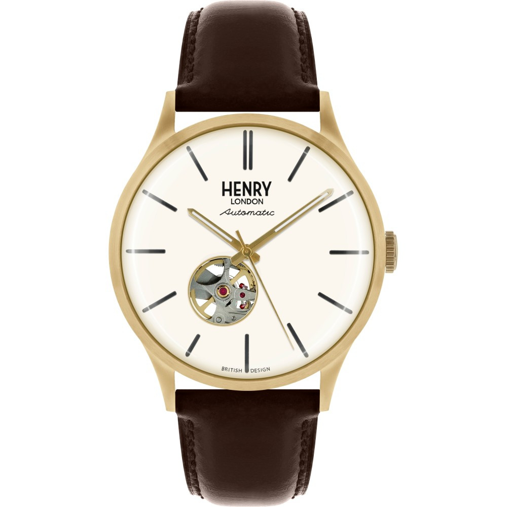 Mens Henry London Heritage Automatic Watch HL42-AS-0280
