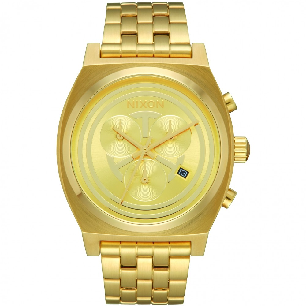 Unisex Nixon The Time Teller Chrono Star Wars Special Edition Chronograph Watch A972SW-2378