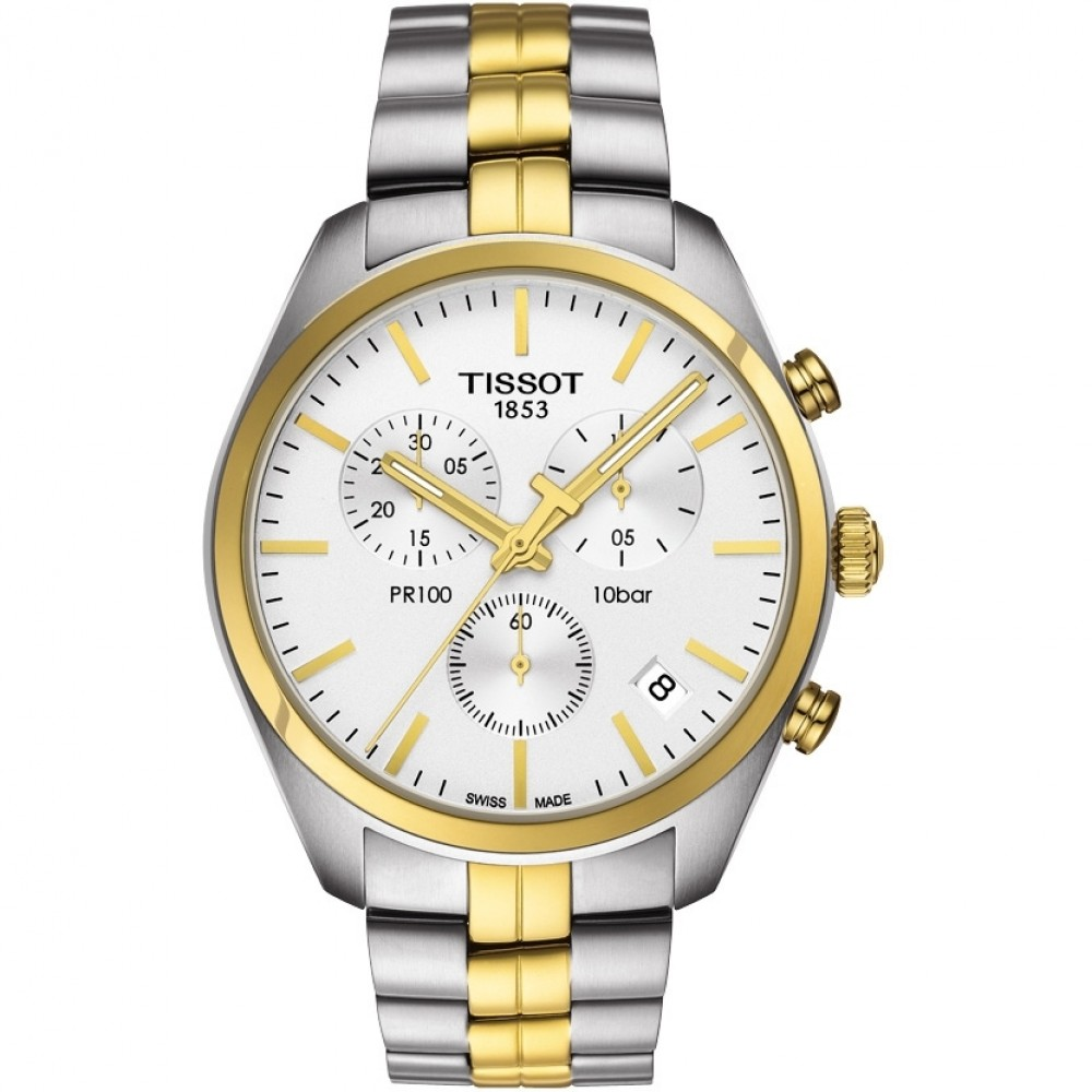 Mens Tissot PR100 Chronograph Watch T1014172203100