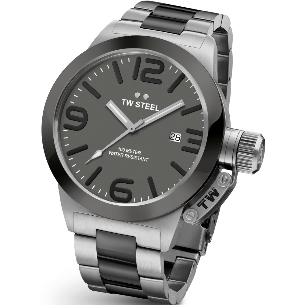Mens TW Steel Canteen 45mm Watch CB0201