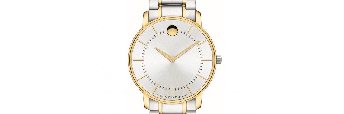 Mens Movado Thin Classic Watch 0606689