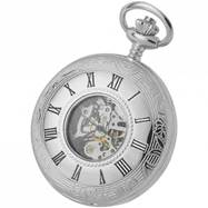 Woodford Half Hunter Skeleton Mechanical Watch WF1078