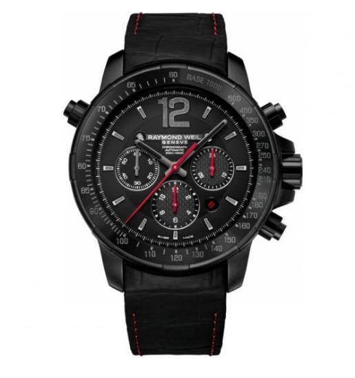 Mens Raymond Weil Nabucco Rivoluzione II Automatic Chronograph Watch 7850-BSF-05207