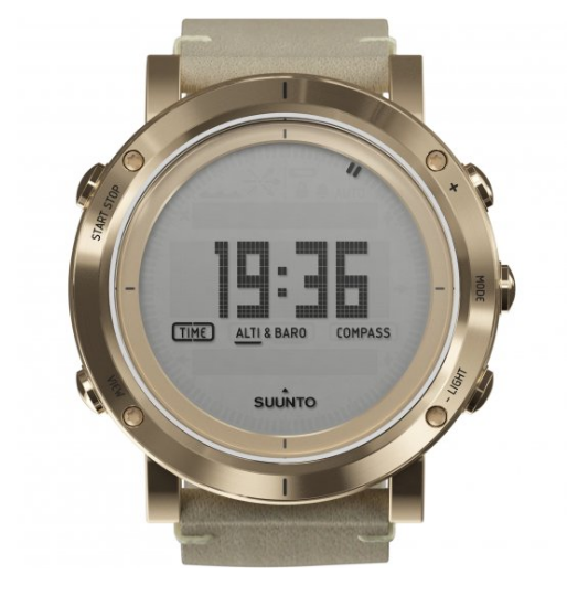 Ladies Suunto Essential Altimeter Barometer Compass Alarm Chronograph Watch SS021214000