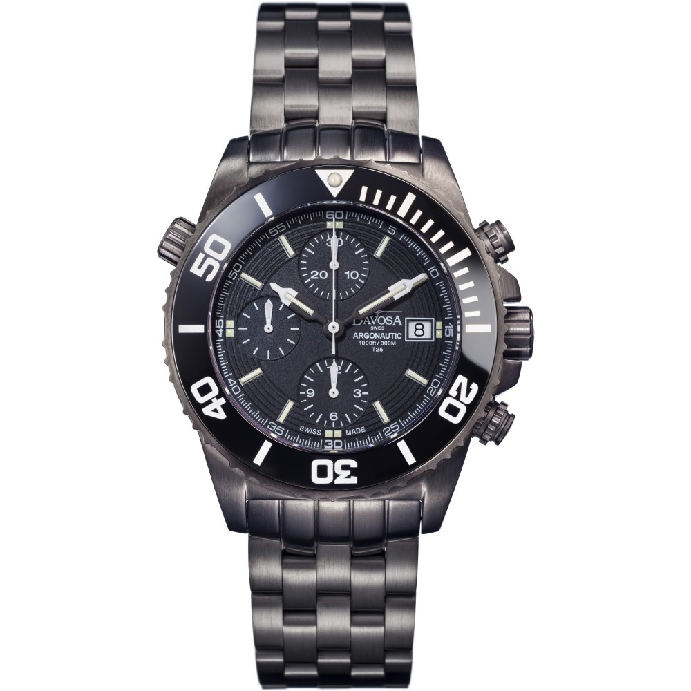 Mens Davosa Argonautic Gun Lumis Watch