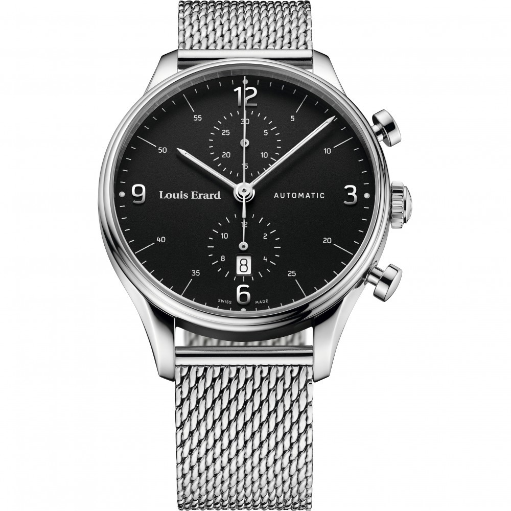Mens Louis Erard Heritage Automatic Watch 78289AA02.BMA08
