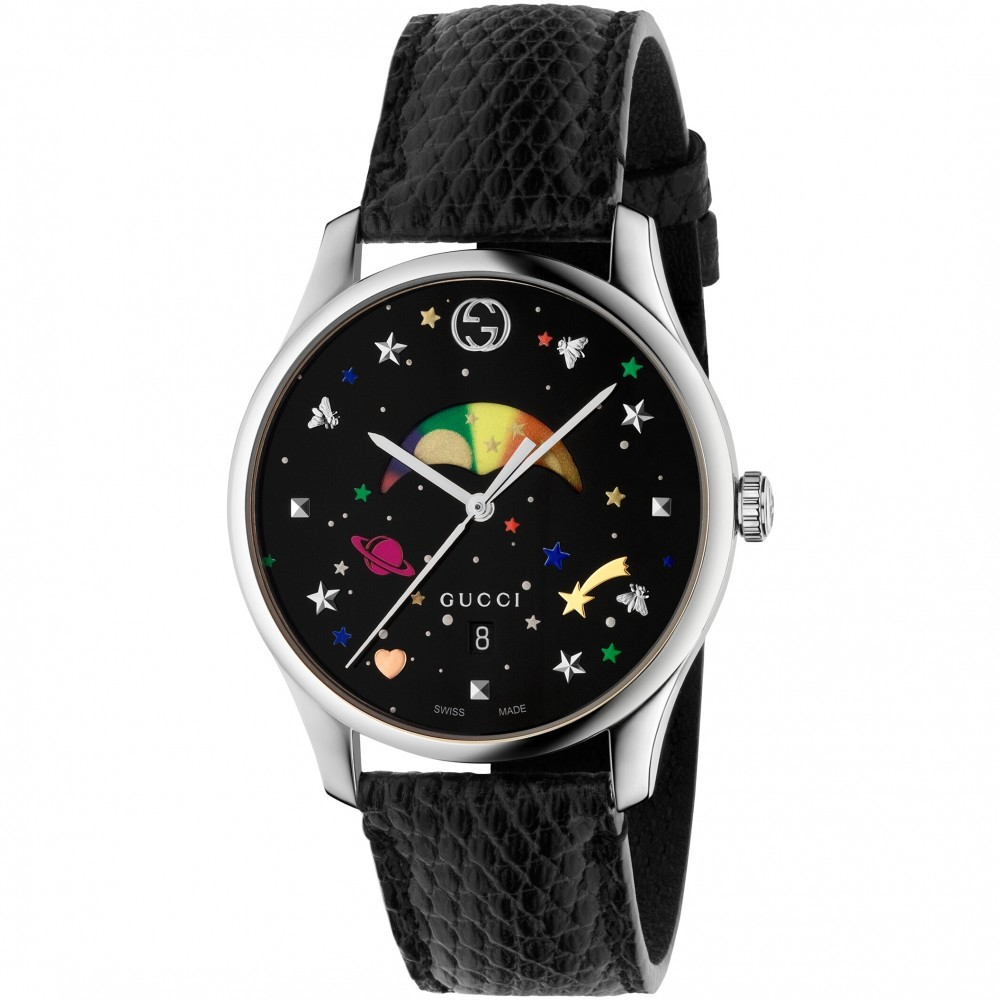 gucci g-timeless slim moonphase watch