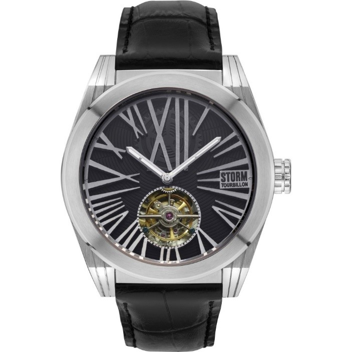Men's Storm Tourbo-X Tourbillon Limited Edition Automatic Watch Tourbo-X-Silver