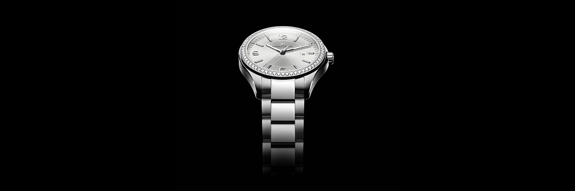 Ladies Maurice Lacroix Miros Date Diamond Watch MI1014-SD502-130-1