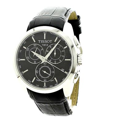 mens tissot couturier chronograph watch t0356171605100