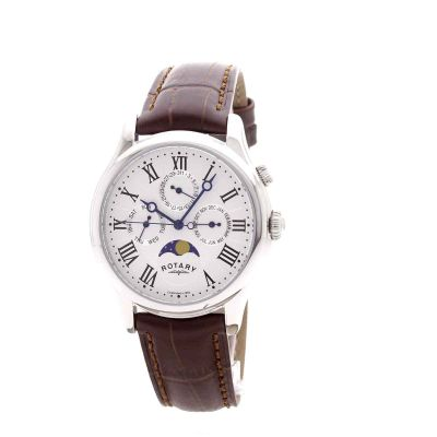 mens rotary moonphase watch gs02838 01