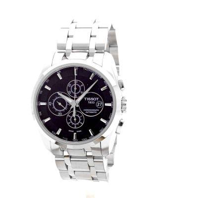 mens tissot couturier automatic chronograph watch t0356271105100