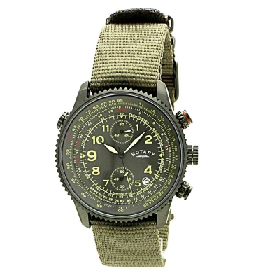 mens rotary exclusive chronograph watch gs00285 04