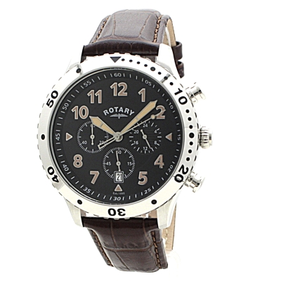 mens rotary exclusive chronograph watch gs00483 04