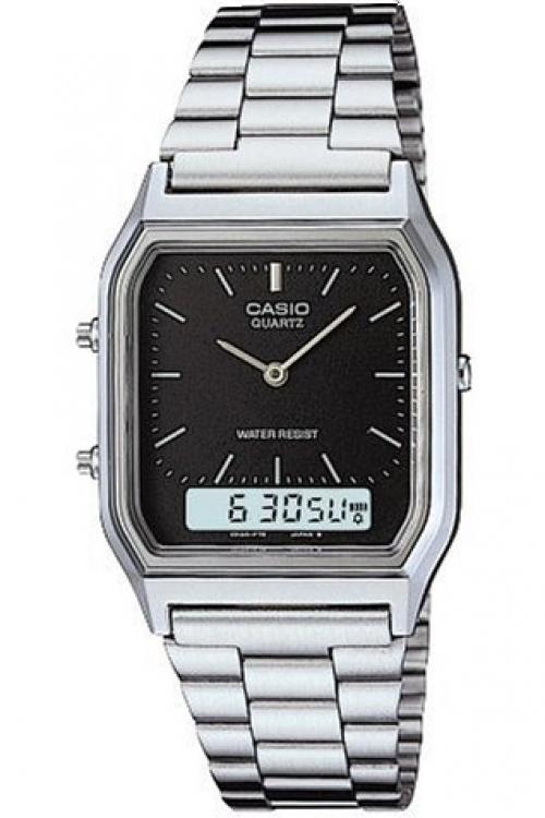 Mens Casio Classic Alarm Chronograph Watch AQ-230A-1DMQYES