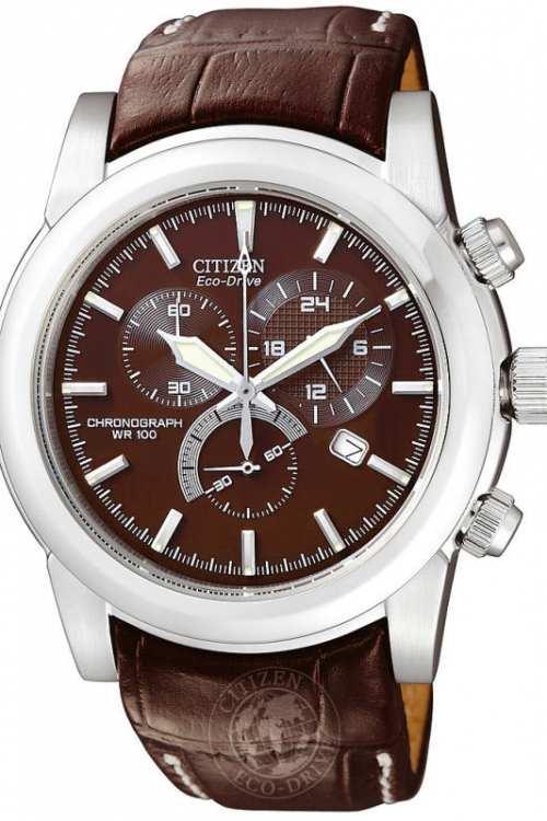 Mens Citizen Chronograph Eco-Drive Watch AT0550-11X