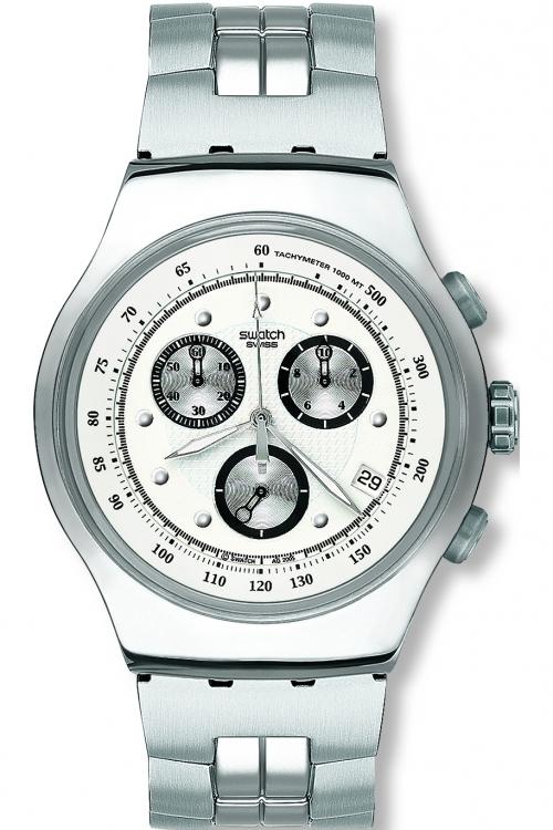 Mens Swatch Wealthy Star Chronograph Watch YOS401G