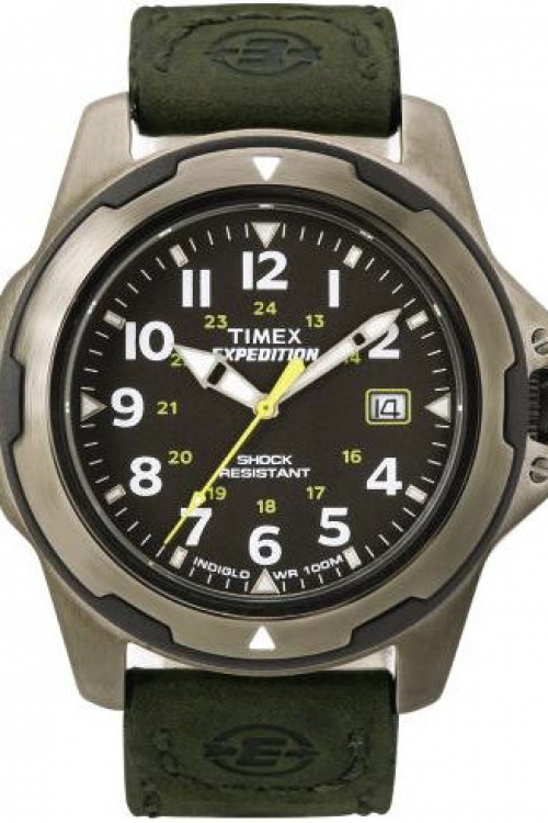 Mens Timex Indiglo Expedition Rugged Field Watch T49271