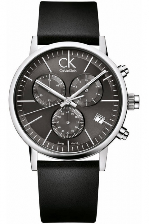 Mens Calvin Klein Post Minimal Chronograph Watch K7627107
