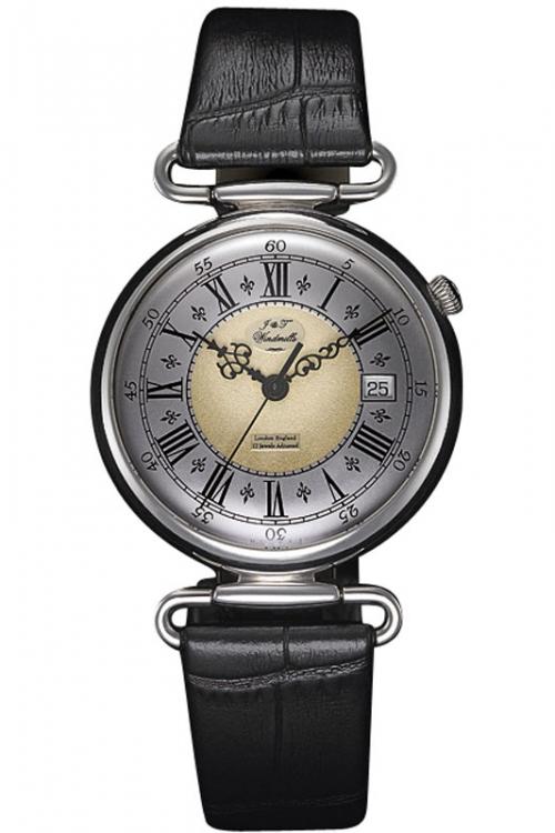 Mens J&T Windmills Throgmorton Silver Mechanical Watch WGS10002/50