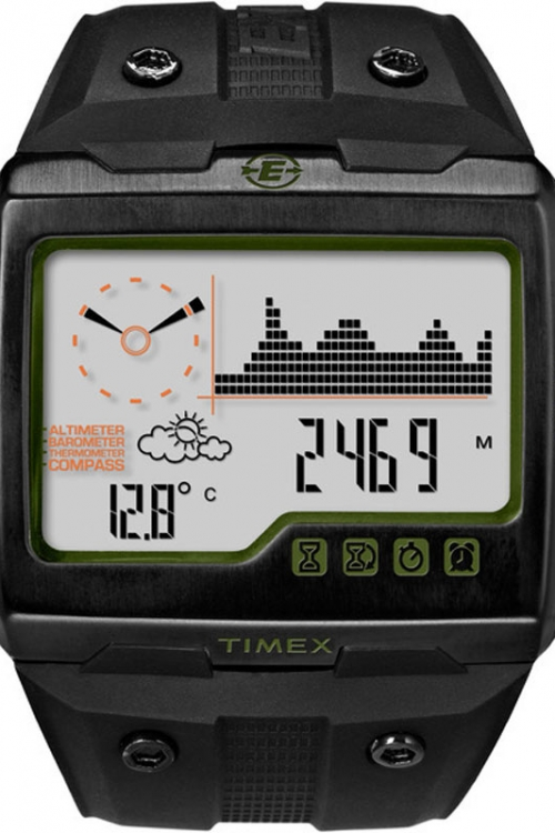 Mens Timex Indiglo Expedition WS4 Alarm Chronograph Watch T49664