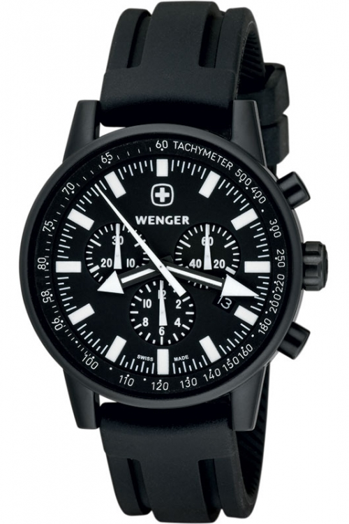 Mens Wenger Commando WPER Chronograph Watch 70890