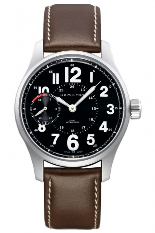 Mens Hamilton Khaki Field Officer Mechanical Watch H69619533