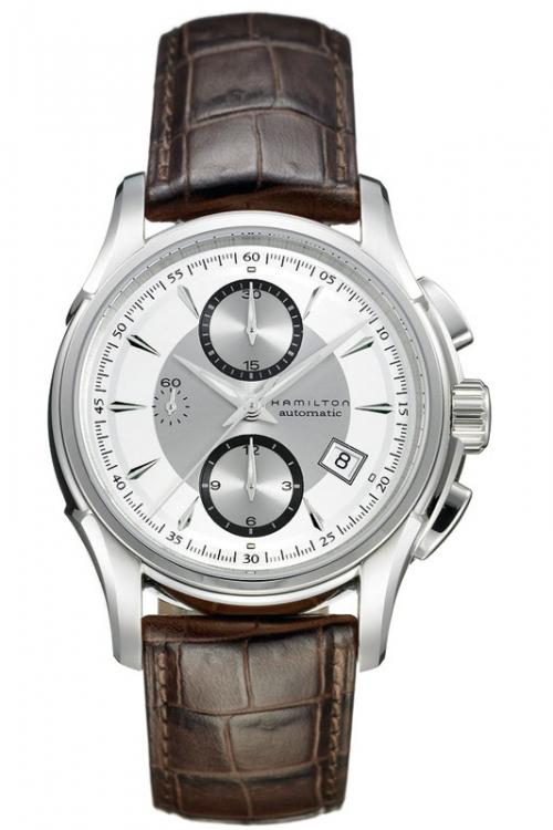 Mens Hamilton Jazzmaster Automatic Chronograph Watch H32616553