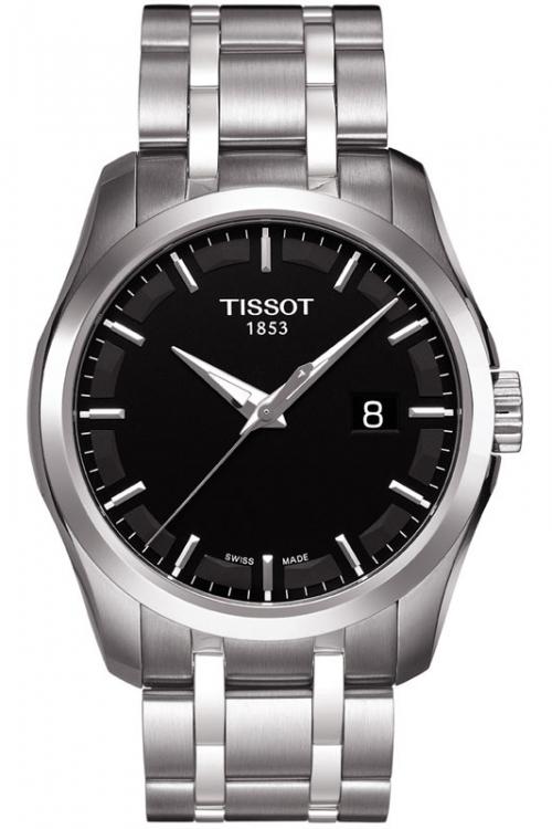 Mens Tissot Couturier Watch T0354101105100