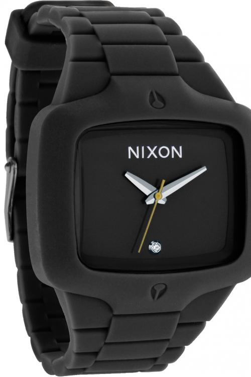 Mens Nixon The Rubber Player Diamond Watch A139-000