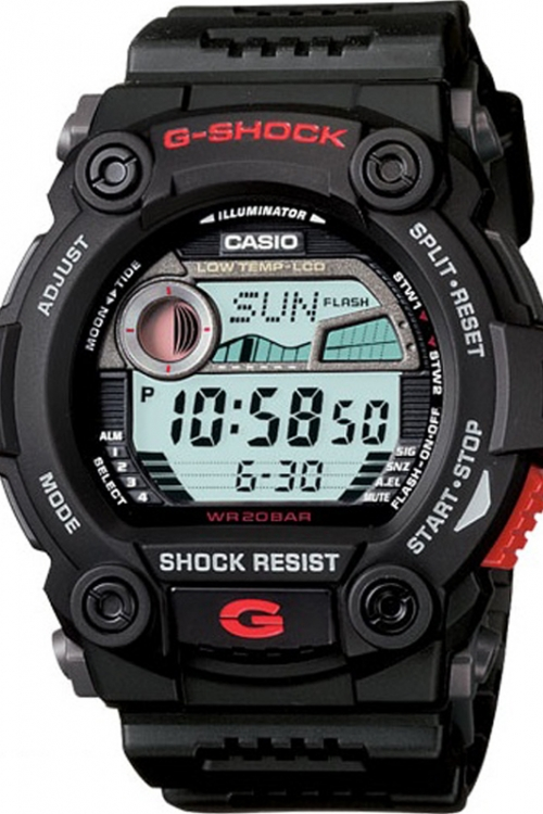 Mens Casio G-Shock G-Rescue Alarm Chronograph Watch G-7900-1ER