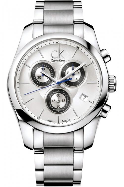 Mens Calvin Klein Strive Chronograph Watch K0K27120