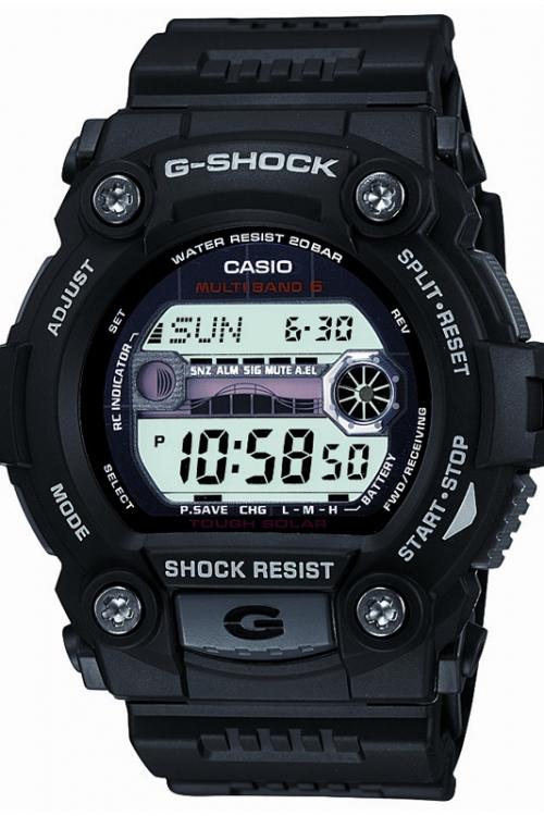 Mens Casio G-Shock G-Rescue Alarm Chronograph Radio Controlled Watch GW-7900-1ER