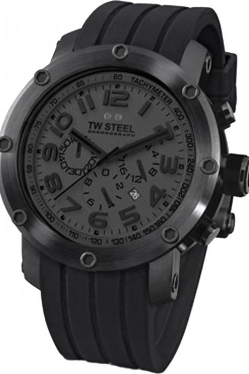 Mens TW Steel Grandeur Tech Chronograph 48mm Watch TW0129