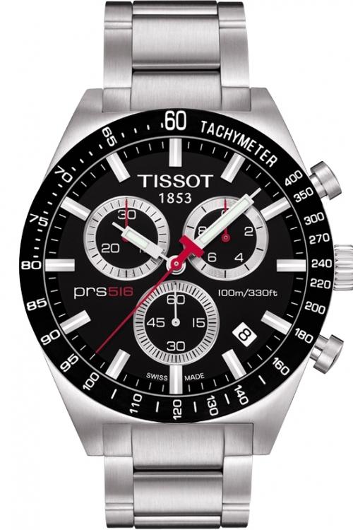 Mens Tissot PRS516 Chronograph Watch T0444172105100