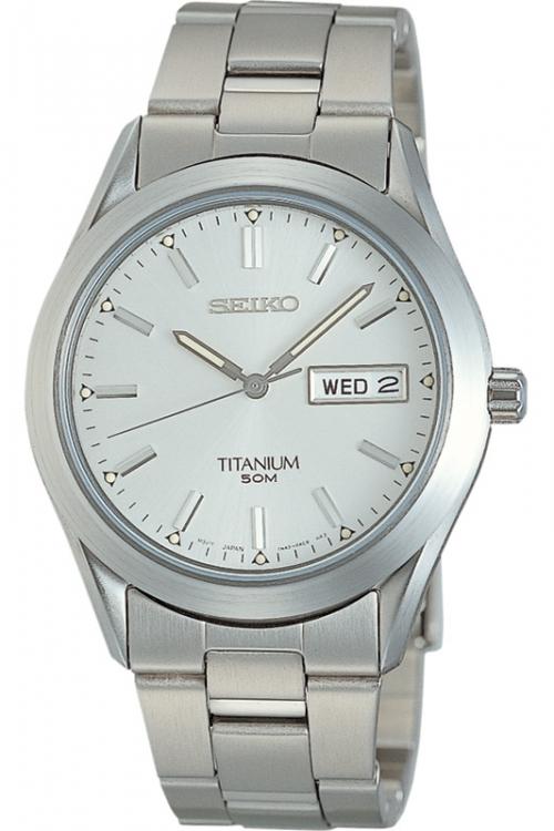 Mens Seiko Titanium Watch SGG705P9
