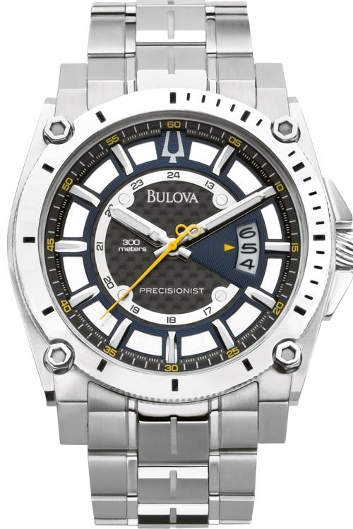 Mens Bulova UHF Precisionist Champlain Watch 96B131