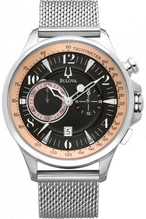 Mens Bulova Adventurer Chronograph Watch 96B139
