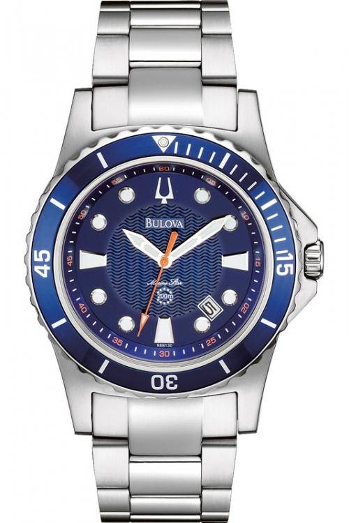 Mens Bulova Marine Star Watch 98B130