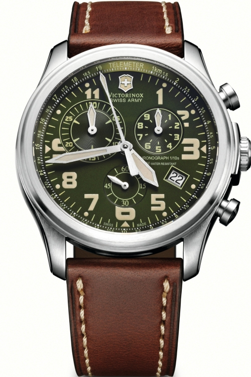 Mens Victorinox Swiss Army Infantry Vintage Chronograph Watch 241287