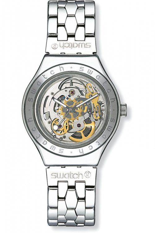 Mens Swatch Body And Soul Skeleton Automatic Watch YAS100G