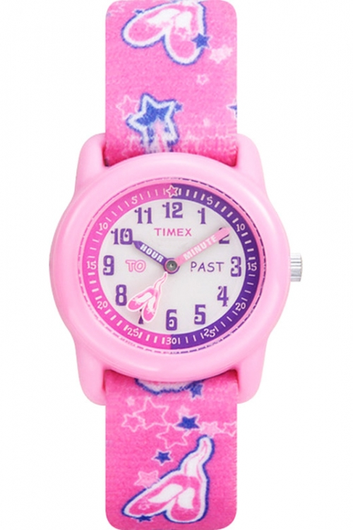 Childrens Timex Tutu Ballerina Time Teacher Watch T7B151