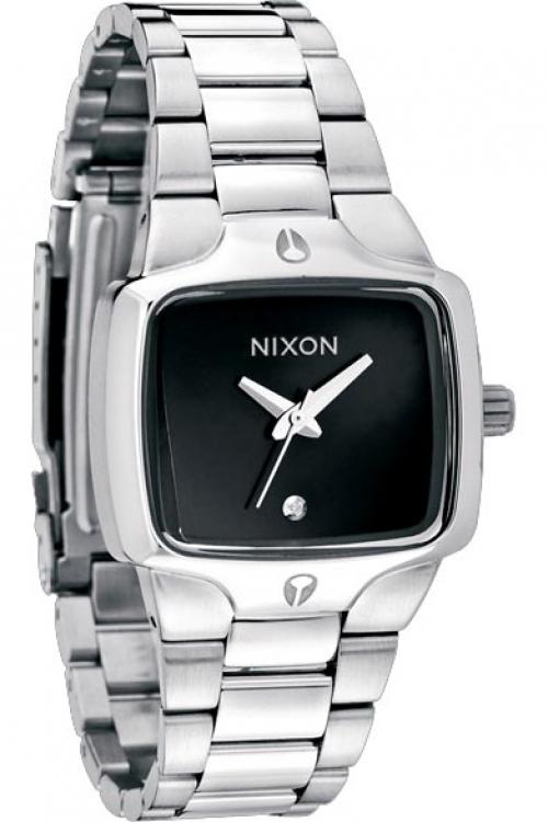 Mens Nixon The Small Player Diamond Watch A300-1000